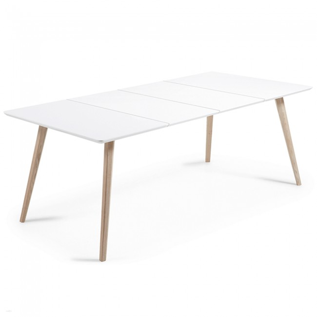 Adi Extendable Dining Table Scandinavian Style Furniture