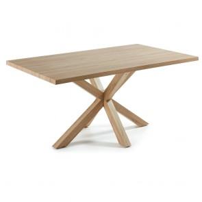 Corinne Dining Table Natural Timber Veneer