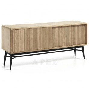 Gerdur White Oak Sideboard Storage
