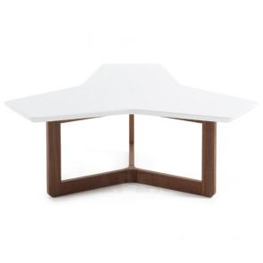 Karenlene Coffee Table Walnut Legs