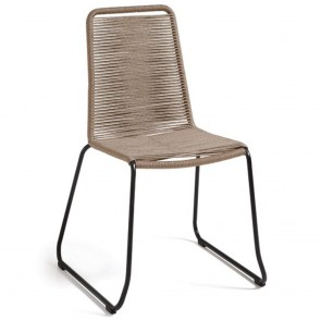 Meagan Stackable Rope Chair