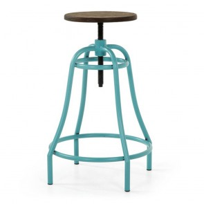 Outdoor Industrial Swivel Stool