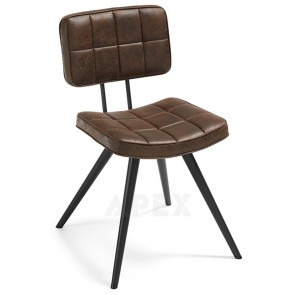 Regan Chair Padded In Synthetic Leather