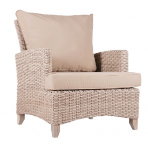 Venice Wicker Single Outdoor Sofa