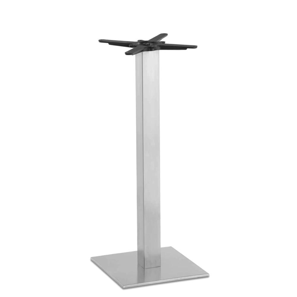 Ingela Square Bar Table Base Stainless Steel