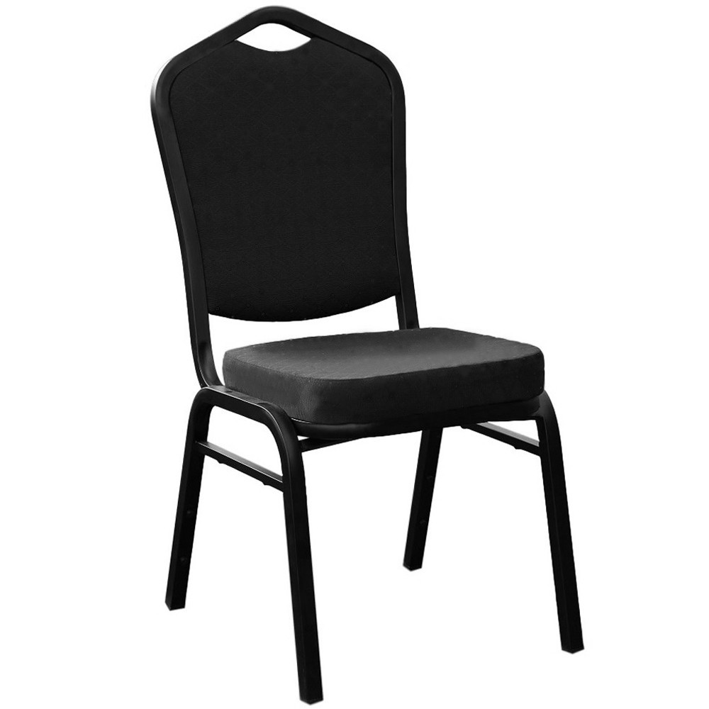 Viktoria Stackable Function Chair Black Fabric