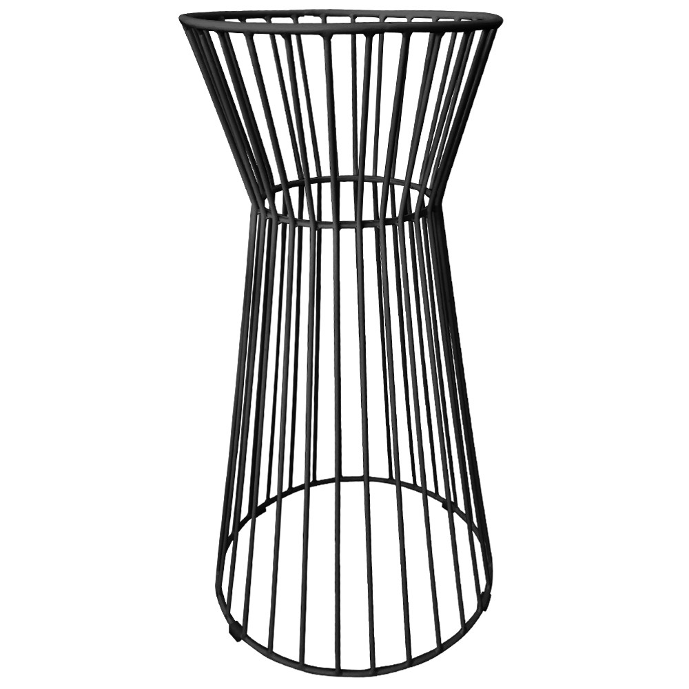 Wire Outdoor Bar Table Base Outdoor Black