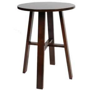 Zara Commercial Bar Table Solid Wood