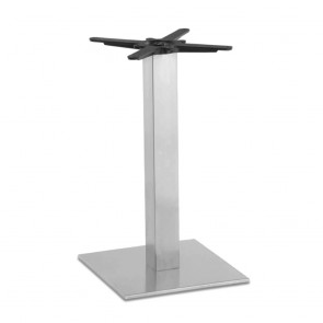 Jaquelina Square Stainless Steel Table Base