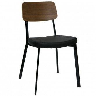 Astor Stackable Upholstered Dining Chair