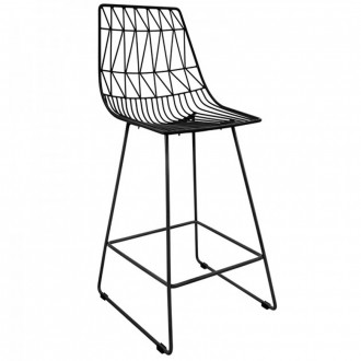 Bend Outdoor Bar Stool Stackable