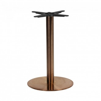 Copper Table Base Round