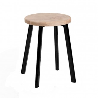 Modern Industrial Low Stool