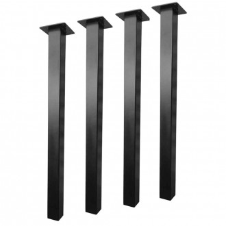 Heavy-Duty Steel Table Legs