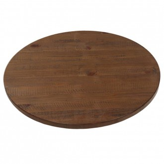 Round Rustic Timber Table Top