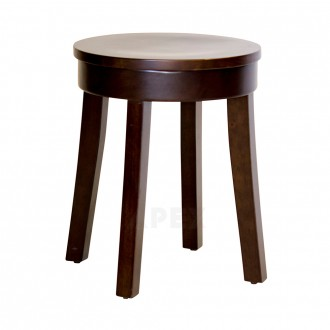 Lucia Classic Wooden Low Stool