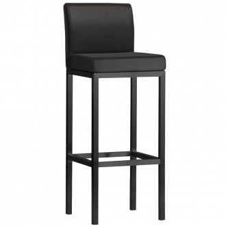 Minimalist Bar Stool Black