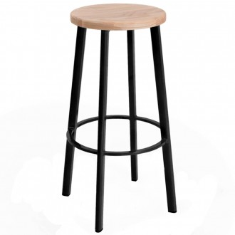 Modern Industrial Bar Stool