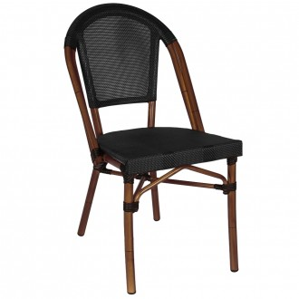 Paris Chair with Fabric Seat