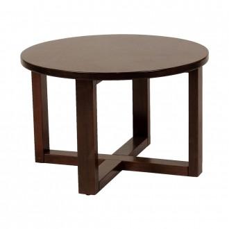 Zara Round Wood Coffee Table