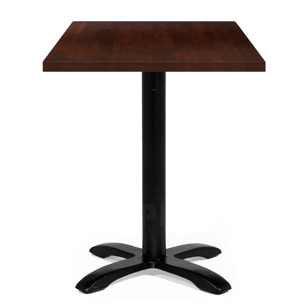 Alvina Modern Square Timber Dining Table Apex