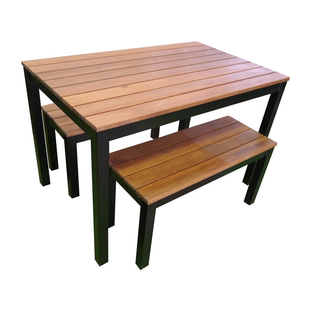Beer Garden Outdoor Table And Bench Seat Set