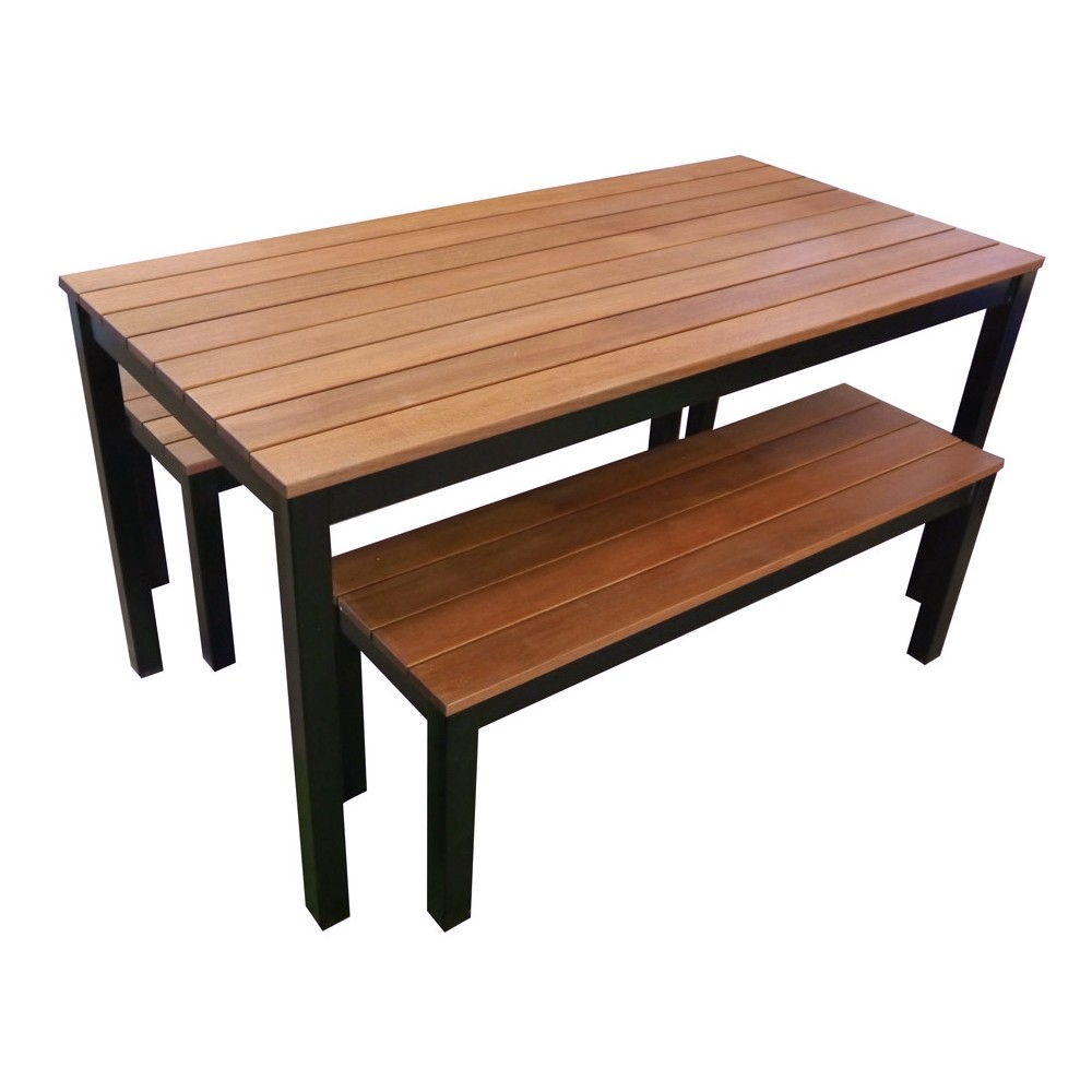 Beer Garden Outdoor Table And Bench Seat Set Cafe Tables