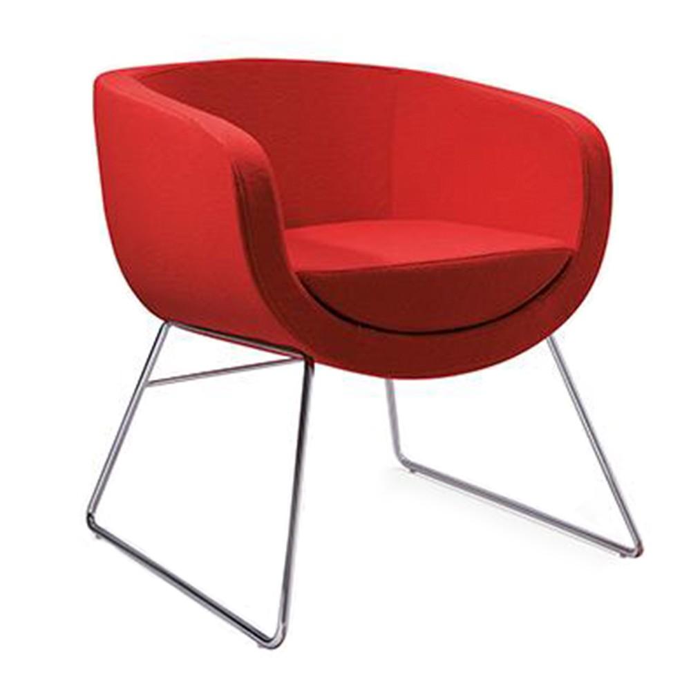 Cube Lounge Club Guest Chair Apex