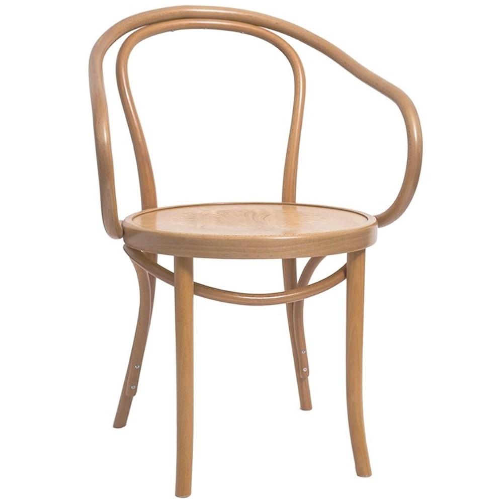 Genuine B9 Bentwood Armchair By Michael Thonet Apex