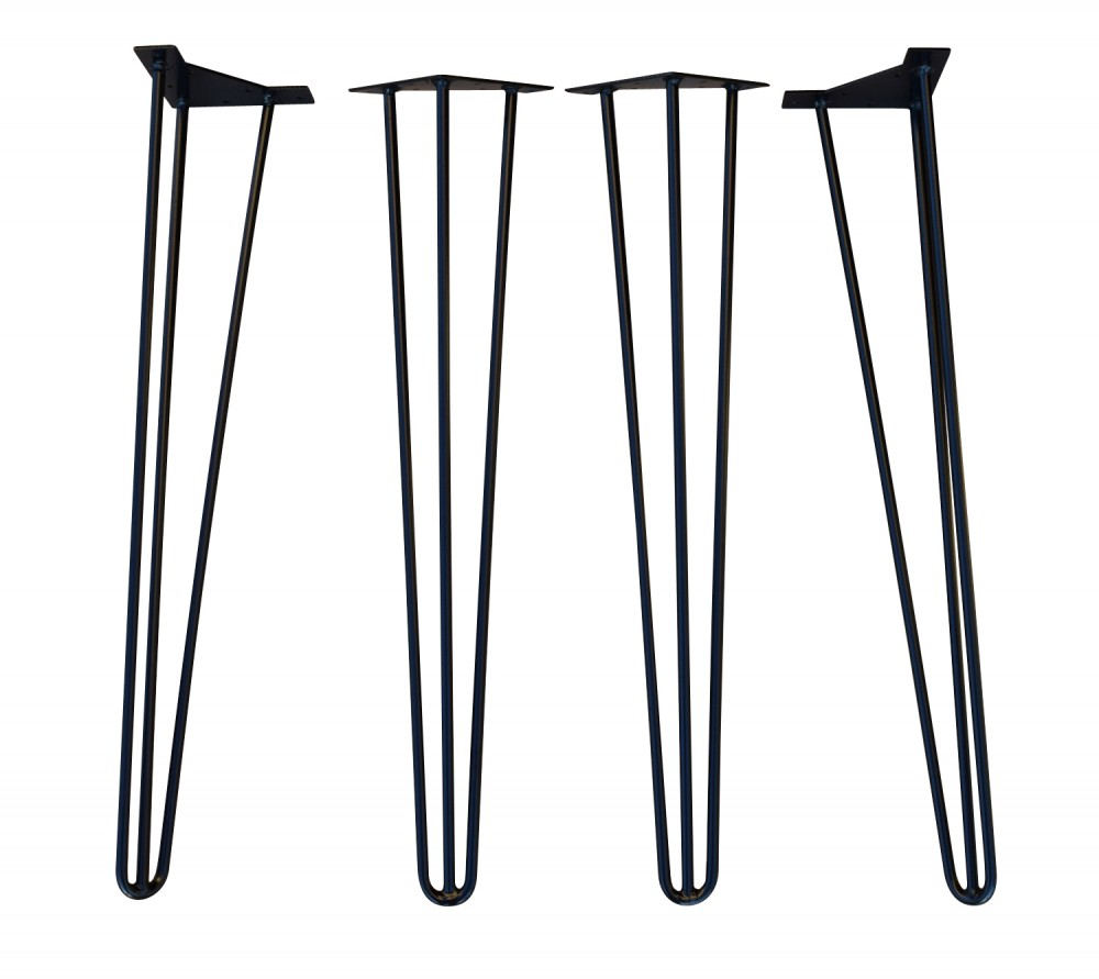hairpin legs set of 4 table bases table parts commercial furniture apex. Black Bedroom Furniture Sets. Home Design Ideas