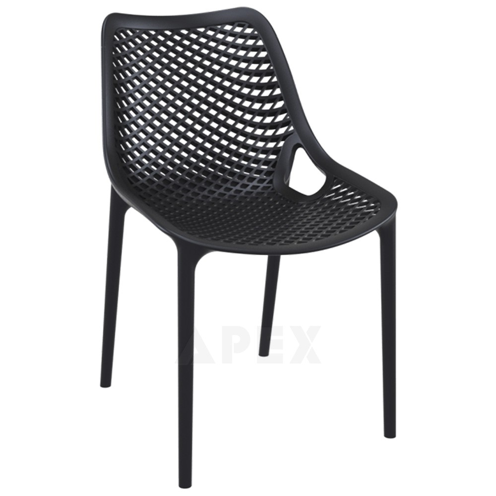 Plastic Outdoor Chairs Black