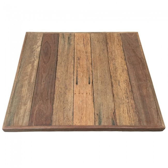 Rustic Recycled Wood Table Top Table Tops Table Parts - Refurbished wood table tops