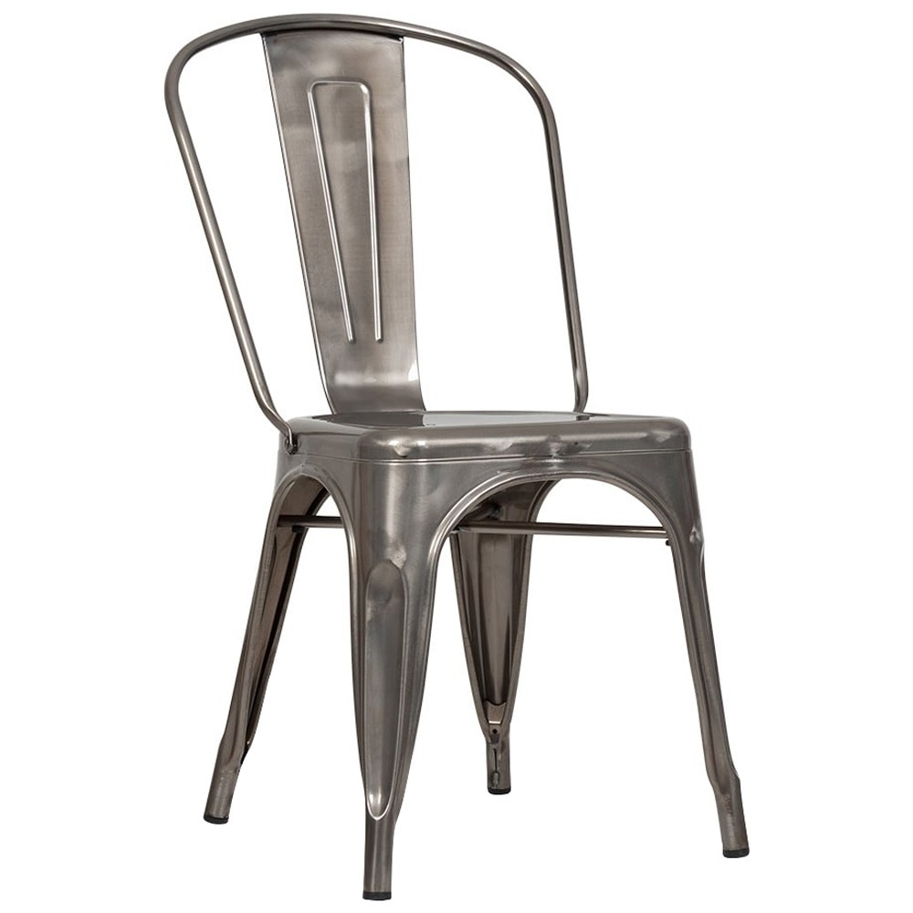 Tolix Industrial Dining Chairs Apex