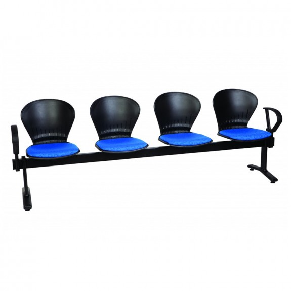 Dynamic Linked Chair Beam Upholstered Seating