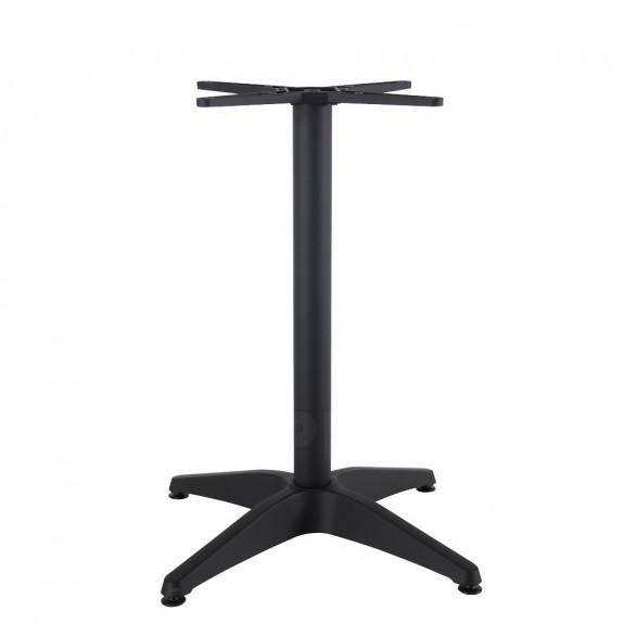 Aida Black Aluminium Table Base Black