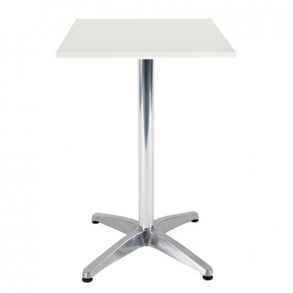 Aida Aluminium Indoor Outdoor Bar Height Pedestal Table