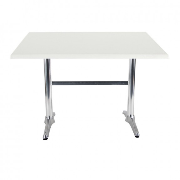 Aida Aluminium Indoor Outdoor Twin Pedestal Table