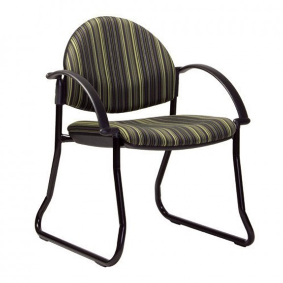 Aliah Sled Chair with Arms