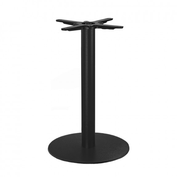 Annick Black Steel Table Base Round