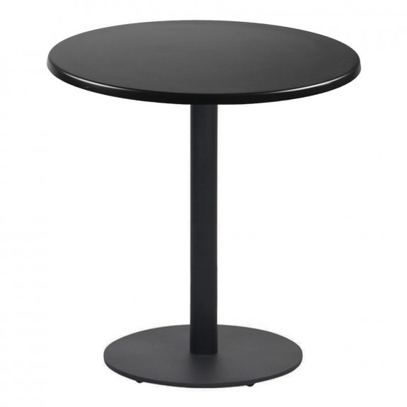 Annick Round Cafe Table Disc Base