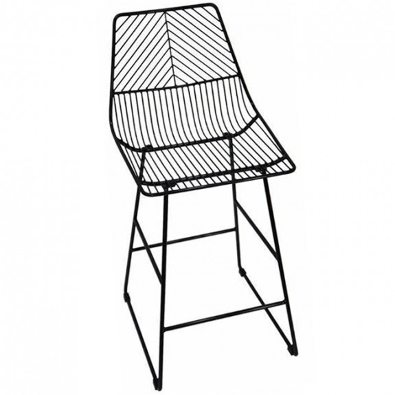Arrow Wire Kitchen Counter Stool