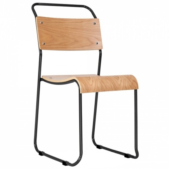 Bauhaus Stackable Sled Chair