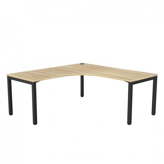 Enterprise Corner Office Desk Black Frame