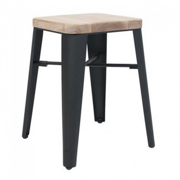 Esja Industrial Low Stool