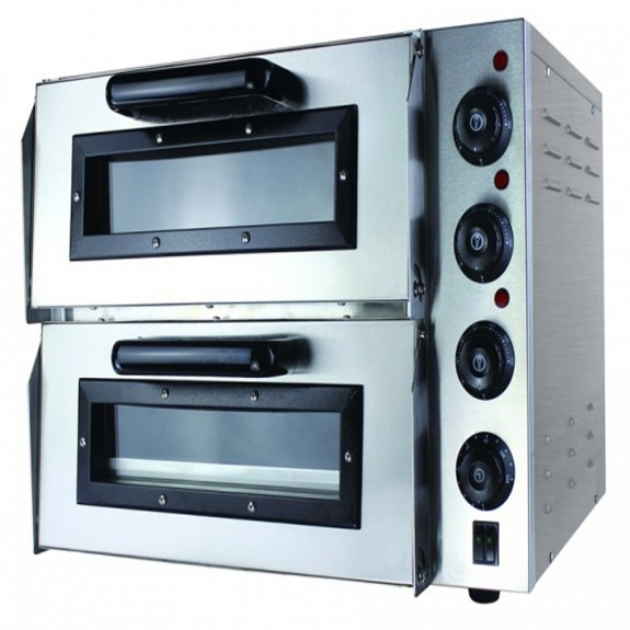 F.E.D Compact Double Pizza Deck Oven EP2S/15