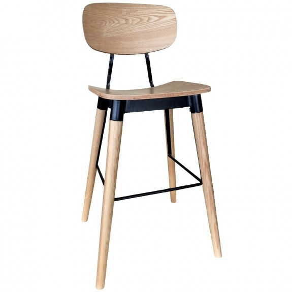 c1e49c4d02a French Industrial Bar Stool