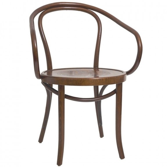 B9 Bentwood Armchair by Le Corbusier and Thonet Walnut