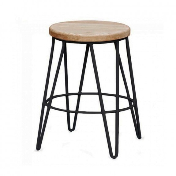 Hairpin Industrial Low Stool