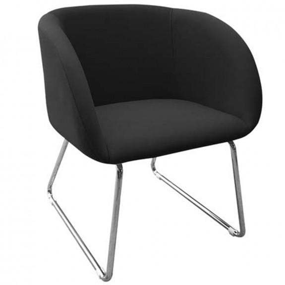 Lissette Reception Chair Contemporary Waiting Room Armchair