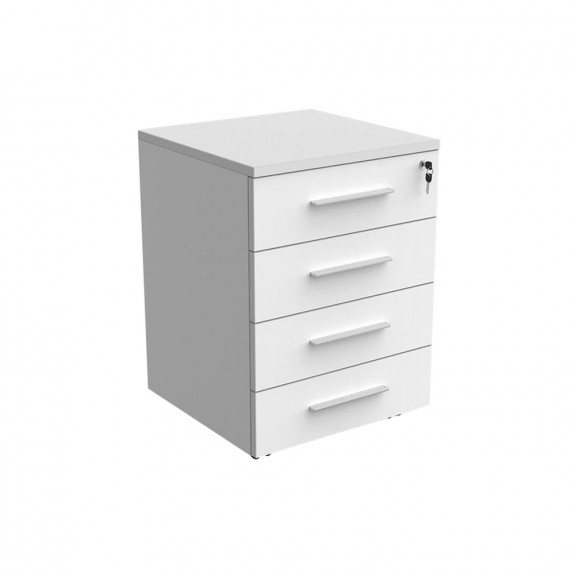 Mobile Pedestal with 4 Drawers